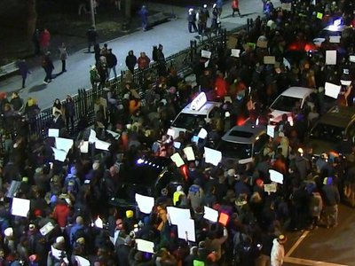 Watch the Boston Common protest through the police's perspective