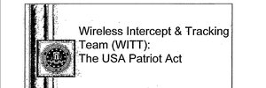 How the Patriot Act changed FBI's policies for tracking cell phones
