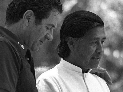 FBI thought Cesar Chavez was only into labor organizing for the money
