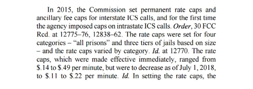 Courts rule that FCC can't regulate in-state prison phone