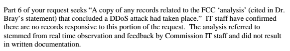 FCC Response