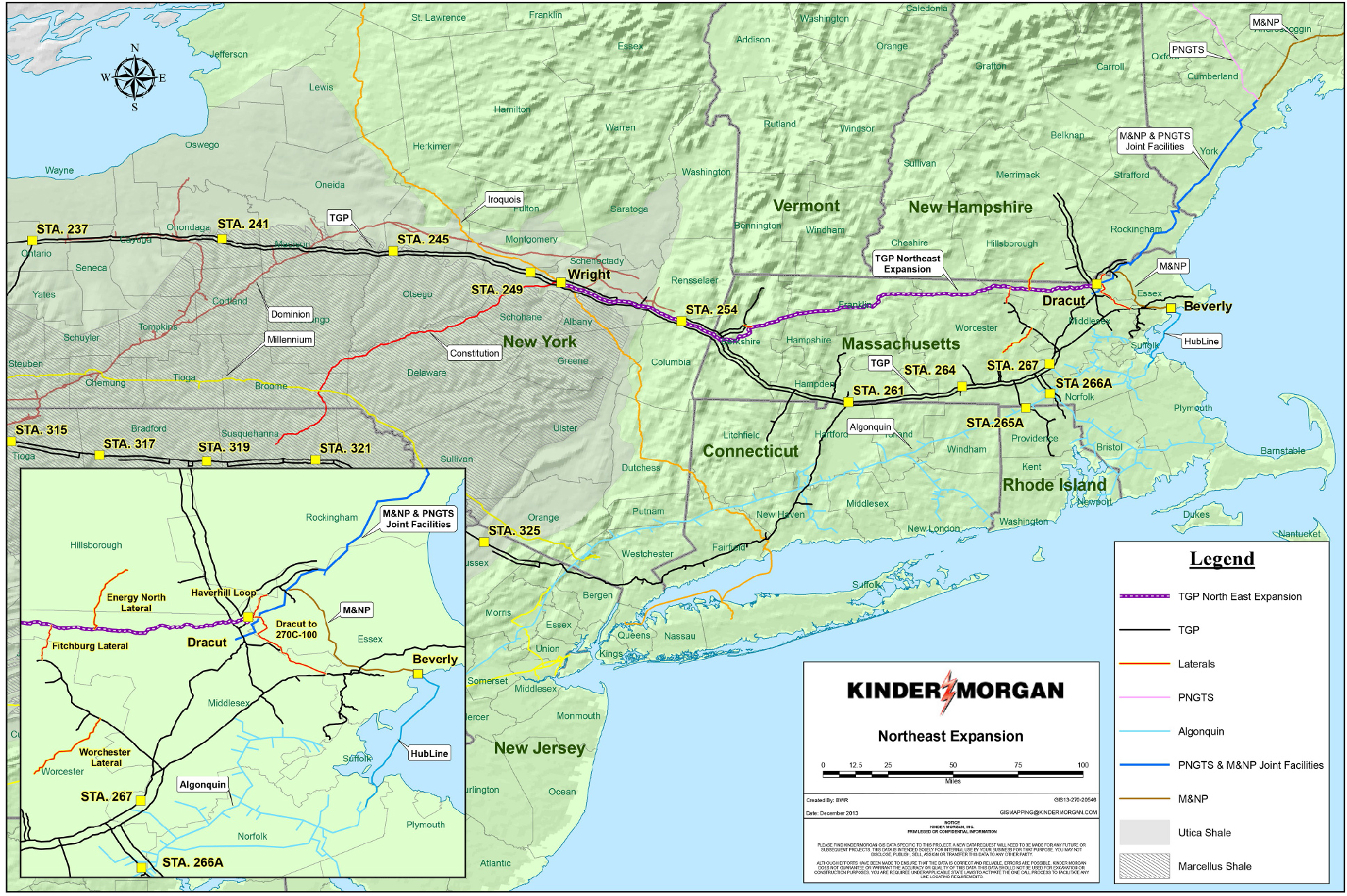 Kinder Morgan paid Massachusetts State Police $115 thousand