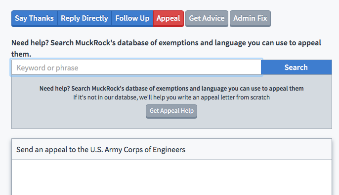 MuckRock's new and improved appeal tool