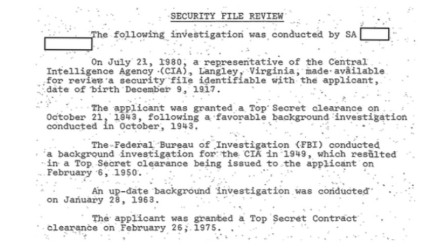 The mystery of disgraced CIA spymaster James Angleton's