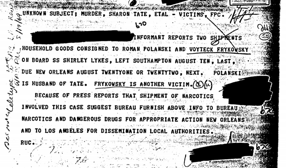 FBI releases first part of its files on Charles Manson