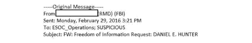 Fbi appears to have investigated and considered prosecuting foia other emails show that the fbis foia office consulted a number of people from the criminal justice information services division maxwellsz