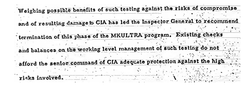 Dissecting the CIA's lies regarding MKULTRA • MuckRock