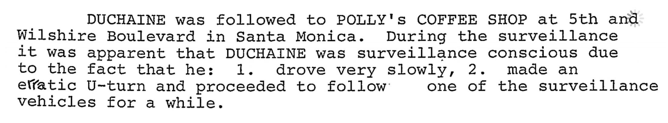 El archivo del FBI sobre el polémico gurú de esteroides Daniel Duchaine Erratic