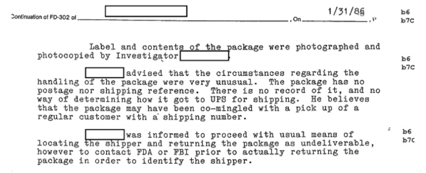 El archivo del FBI sobre el polémico gurú de esteroides Daniel Duchaine Shipper