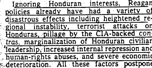 CIA archives show ties between the Honduran Border Caravan and the ...
