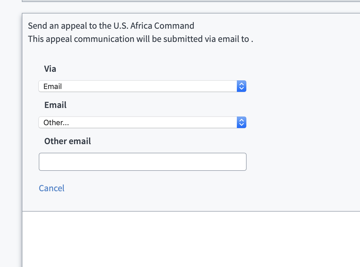 Our new appeal contact adjustment tool