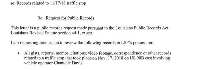 Louisiana judge grants access to state police body-camera