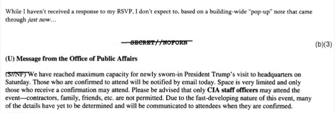 Staff gives up on getting invite to see POTUS