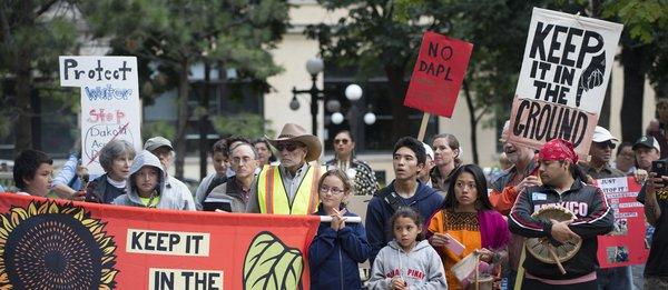 #NoDAPL Pipeline Protest