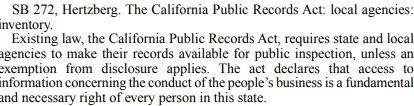 California SB 272 catalogs