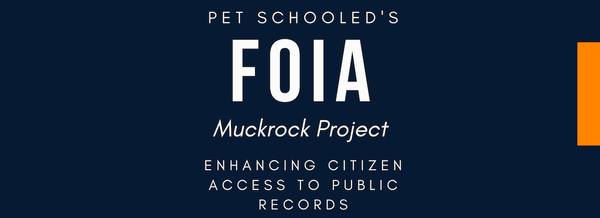 Pet Schooled FOIA Project